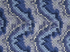 Ткани Beacon Hill - Copa Mosaic Indigo 243704 Beacon Hill
