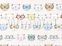Ткани Fryett's - Cool Cats Fabric Fryett's