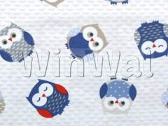 Ткани Fryett's - Owls - Red/Blue Fryett's
