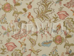 Ткани Mulberry Home - EARLY BIRDS EMBROIDERY / NATURAL FD708.K101 Mulberry Home