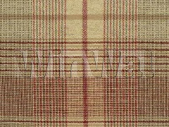 Ткани Mulberry Home - LONDON CHECK / RED/GRE FD542.V117 Mulberry Home