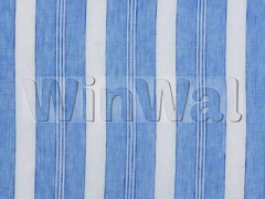 Ткани Mulberry Home - ANTIBES STRIPE / BLUE FD520.H101 Mulberry Home
