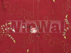 Ткани Mulberry Home - BOTTICELLI SILK / RED FD478.V106 Mulberry Home