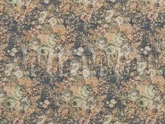 Ткани Mulberry Home - BOHEMIAN TAPESTRY / INDIGO FD725.H10 Mulberry Home