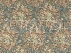 Ткани Mulberry Home - BOHEMIAN TAPESTRY / TEAL FD725.R11 Mulberry Home