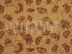 Ткани Mulberry Home - MEADOW SILK / RED/GOLD FD622.V102 Mulberry Home