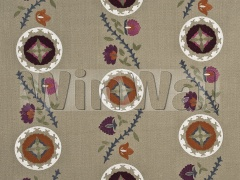 Ткани Mulberry Home - TANGIER / LINEN/MULTI FD682.K132 Mulberry Home