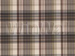 Ткани Mulberry Home - ANCIENT TARTAN / CHARCOAL/GOLD FD016/584.A127 Mulberry Home