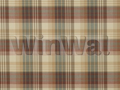 Ткани Mulberry Home - ANCIENT TARTAN / RED/CHARCOAL FD016/584.V78 Mulberry Home