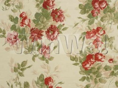 Ткани Mulberry Home - RHODE ISLAND ROSES / PINK/GREEN FD246.W28 Mulberry Home