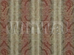 Ткани Mulberry Home - MISTY PAISLEY / RED/OLI FD567.V74 Mulberry Home