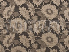Ткани Mulberry Home - SUNFLOWER WEAVE / TRUFFLE FD575.A17 Mulberry Home