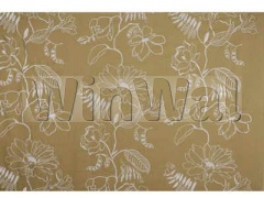 Ткани Mulberry Home - HUTTON LINEN / GOLD FD553.T102 Mulberry Home
