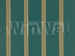Ткани Mulberry Home - DELANEY STRIPE / TEAL FD627.R11 Mulberry Home