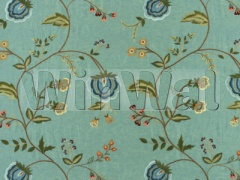 Ткани Mulberry Home - SARABANDE / TEAL FD636.R11 Mulberry Home