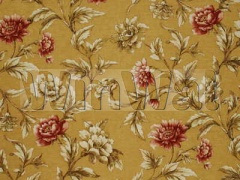 Ткани Mulberry Home - GILDED PEONY / SAND/RED FD252.N106 Mulberry Home
