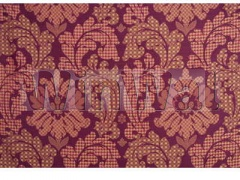 Ткани Mulberry Home - PATCHWORK DAMASK SILK / RED/GOLD FD591.V102 Mulberry Home