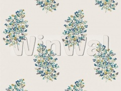 Ткани Sanderson - Wendell Embroidery Ceramic Blue 236722 Sanderson