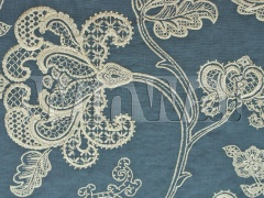 Ткани Colefax&Fowler - Lace Tree Blue Colefax&Fowler
