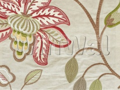 Ткани Colefax&Fowler - Augusta Red/Green Colefax&Fowler