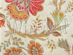 Ткани Colefax&Fowler - Casimir Red/Green Colefax&Fowler