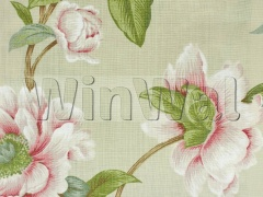 Ткани Colefax&Fowler - Giselle Pink/Green Colefax&Fowler