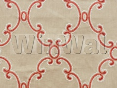 Ткани Colefax&Fowler - Silvie Red Colefax&Fowler