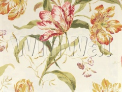 Ткани Colefax&Fowler - Delft Tulips Pink/Ochre Colefax&Fowler