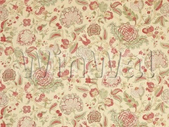 Ткани Colefax&Fowler - Colmar Red/Green Colefax&Fowler