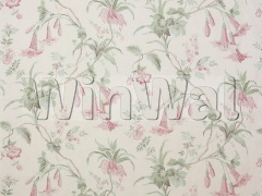 Ткани Colefax&Fowler - Datura Pink/Green Colefax&Fowler