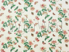 Ткани Colefax&Fowler - Honeysuckle Red Colefax&Fowler
