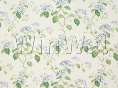 Ткани Colefax&Fowler - Summerby Cotton Blue/Green Colefax&Fowler