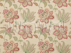 Ткани Colefax&Fowler - Oriana Pink/Green Colefax&Fowler