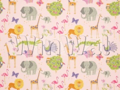 Ткани Jane Churchill - Wild Things Pink Jane Churchill