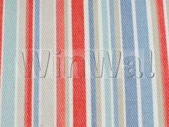 Ткани Jane Churchill - Zappy Stripe Blue/Red Jane Churchill