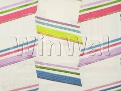 Ткани Jane Churchill - Zodiac Stripe Fbaric - Pink/Lime Jane Churchill