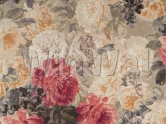 Ткани Zoffany - Rose Absolute Linen Sunstone/Mercury 322652 Zoffany