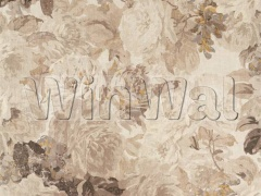 Ткани Zoffany - Rose Absolute Linen White Opal/ Mousseux 322651 Zoffany