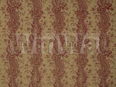 Ткани Marvic Textiles - Pompadour 5660-206 Ruby on Dark Beige Marvic Textiles