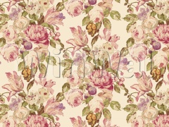 Ткани Edinburgh Weavers - Blooming Cream Pink Edinburgh Weavers