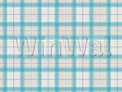 Ткани Edinburgh Weavers - Highlights-Tartan Teal Edinburgh Weavers