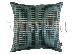 Ткани Kirkby Design - Stamp Cushion Teal KDC5197/11 Kirkby Design