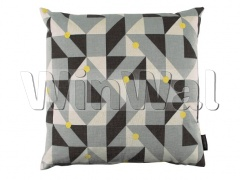 Ткани Kirkby Design - Puzzle Cushion Lime KDC5111/02 Kirkby Design