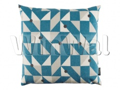 Ткани Kirkby Design - Puzzle Cushion Kingfisher KDC5111/04 Kirkby Design