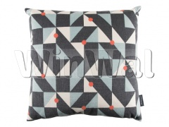 Ткани Kirkby Design - Puzzle Cushion Coral KDC5111/05 Kirkby Design