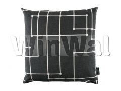 Ткани Kirkby Design - Connect Cushion Midnight KDC5113/08 Kirkby Design