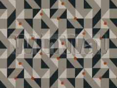Ткани Kirkby Design - Puzzle Burnt Orange K5111/01 Kirkby Design