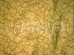 Ткани Kandola - Amati Silk Embroidery Churlish Green Kandola
