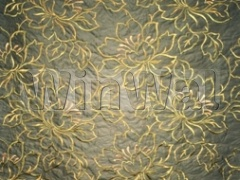Ткани Kandola - Amati Silk Embroidery Forest/ Green Kandola