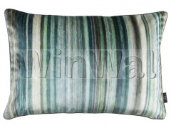 Ткани Black Edition - Tomoko Velvet 60cm x 40cm Cushion Malachite RBC121/02 Black Edition